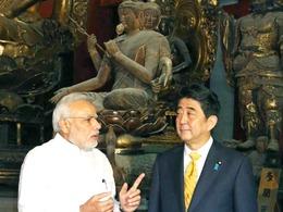 日印对华外交<br>现微妙分歧