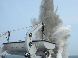南海舰队扫雷震撼现场曝光[图]