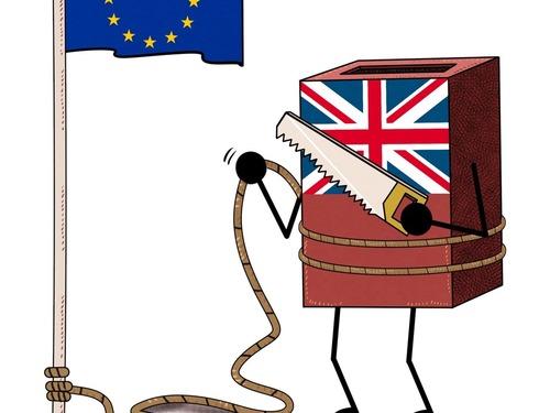 英国反水欧盟喋血:全球金融海啸将至