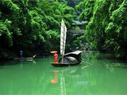 湖北宜昌:三峡人家风情如画