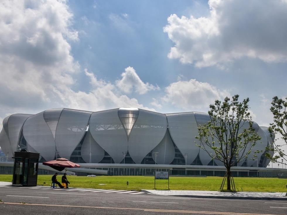 聚焦G20:杭州地标建筑今昔对比