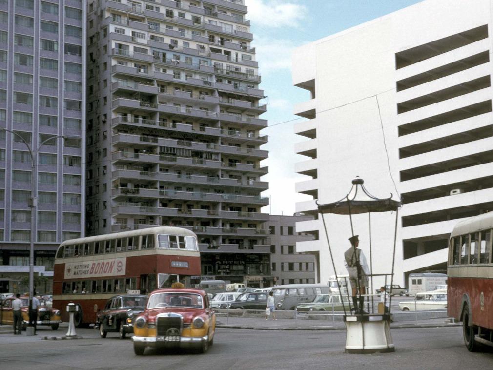 法国摄影师记录1965年的香港[图集]