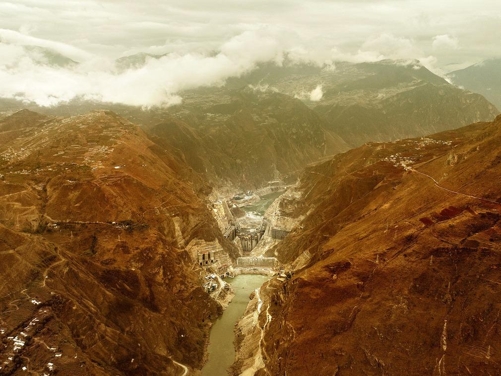 世界在建第二大水电站 中国西南巨型水利工程实拍[图集]