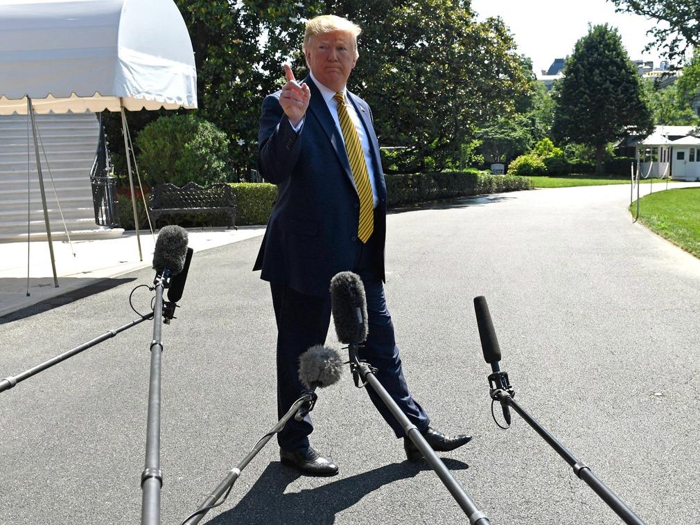 """美国即将公布对伊朗实施""""重大""""新制裁[图集]"""