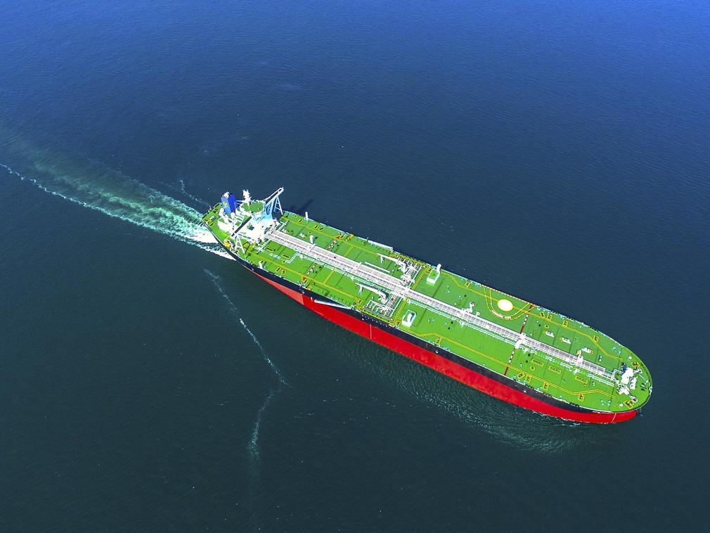 全球首艘 中国超大型智能油轮正式交付[图集]