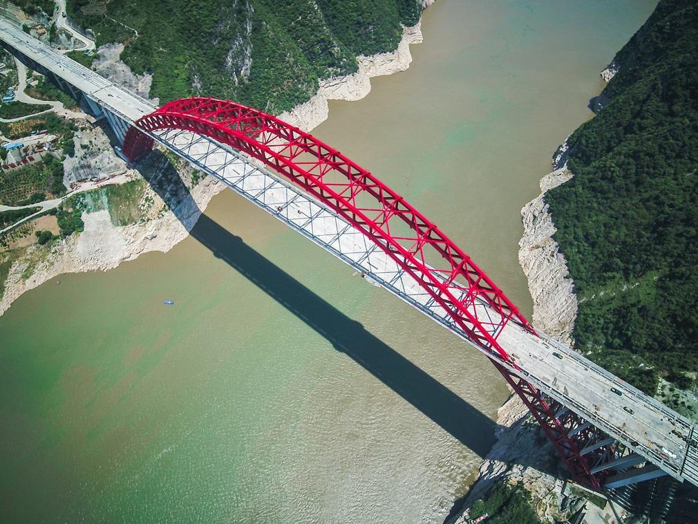 中国三峡移民后续重大工程 又一座世界级大桥将建成[图集]